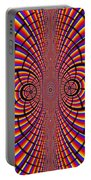 Multicolored Abstract Portable Battery Charger