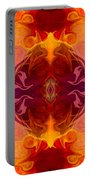 Multilayered Realities Abstract Pattern Artwork By Omaste Witkow Portable Battery Charger