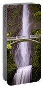 Multnomah Falls Silk Portable Battery Charger