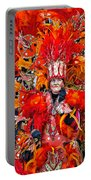 Mummer Red Portable Battery Charger