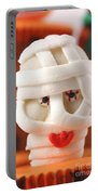 Mummy Sweet On Halloween Cup Cake Portable Battery Charger