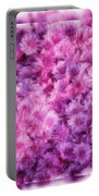 Mums In Purple - Featured In 'comfortable Art' And 'nature Photography' Groups Portable Battery Charger
