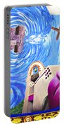 Church Mural Portable Battery Charger