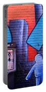 Mural, Nyc, New York City, New York Portable Battery Charger