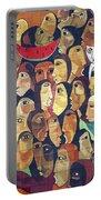 Mural Street Art Ecuador 2 Portable Battery Charger