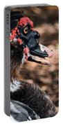 Muscovy Feathers Portable Battery Charger