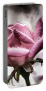 Museum Park Pink Rose Portable Battery Charger