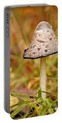 Shaggy Mane Mushroom Portable Battery Charger