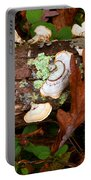 Mushrooms And Leaf Portable Battery Charger