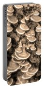 Mushrooms On A Tree Portable Battery Charger