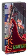 Music Clubs Nashville Portable Battery Charger