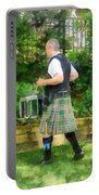 Music - Drummer In Pipe Band Portable Battery Charger
