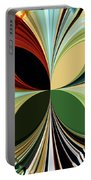 Music In Bird Of Tree Kaleidoscope Portable Battery Charger