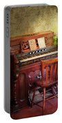 Music - Organist - Playing The Songs Of The Gospel  Portable Battery Charger