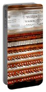 Music - Organist - The Pipe Organ Portable Battery Charger by Mike Savad