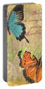 Musical Butterflies 1 Portable Battery Charger