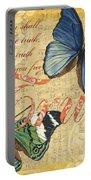 Musical Butterflies 3 Portable Battery Charger