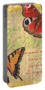 Musical Butterflies 4 Portable Battery Charger