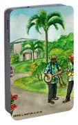 Musicians On Island Of Grenada Portable Battery Charger