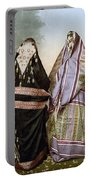 Muslim Women, C1895 Portable Battery Charger