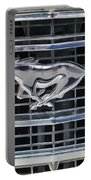 Mustang Emblem Portable Battery Charger