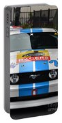 Mustang Race Car Portable Battery Charger