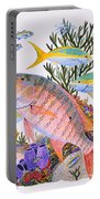 Mutton Snapper Reef Portable Battery Charger