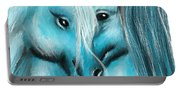 Mutual Companions- Fine Art Horse Artwork Portable Battery Charger