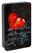 My All - Love Romantic Art Valentine's Day Portable Battery Charger