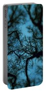 My Blue Dark Forest Portable Battery Charger