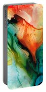 My Cup Runneth Over - Abstract Art By Sharon Cummings Portable Battery Charger