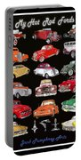 Hot Rod Ford Poster Portable Battery Charger