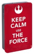 My Keep Calm Star Wars - Rebel Alliance-poster Portable Battery Charger