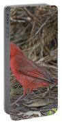 My Name Is Red Portable Battery Charger by Deborah Benoit