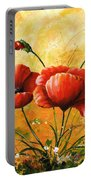 My Poppies 047 Portable Battery Charger