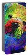 My Psychedelic Bulldog Portable Battery Charger