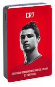 My Ronaldo Soccer Legend Poster Portable Battery Charger