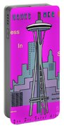 My Sleepless In Seattle Movie Poster Portable Battery Charger