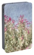 My Spring Garden - Impressionism Portable Battery Charger