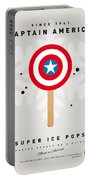 My Superhero Ice Pop - Captain America Portable Battery Charger