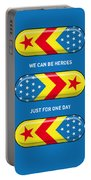 My Superhero Pills - Wonder Woman Portable Battery Charger