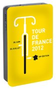 My Tour De France 2012 Minimal Poster Portable Battery Charger