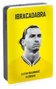 My Zlatan Soccer Legend Poster Portable Battery Charger