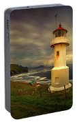 Mykinesholmur Lighthouse And Mykines Portable Battery Charger