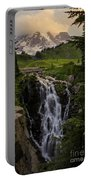 Myrtle Falls Morning Light Portable Battery Charger