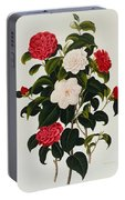 Myrtle Leaved Camellia Portable Battery Charger