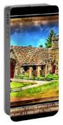 Mystic Church - Featured In Comfortable Art Group Portable Battery Charger