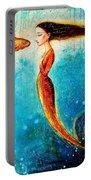 Mystic Mermaid II Portable Battery Charger by Shijun Munns