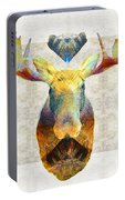 Mystic Moose Art By Sharon Cummings Portable Battery Charger