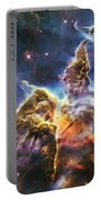 Mystic Mountain Portable Battery Charger by Adam Romanowicz